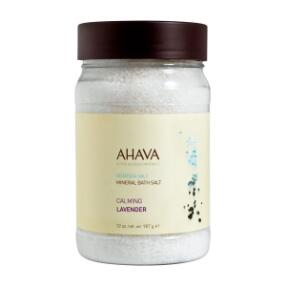 AHAVA Dead Sea Mineral Bath Salts - Lavendar