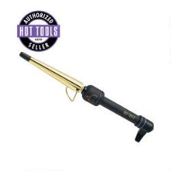 Hot Tools 1-Inch Gold Tapered Curling Iron