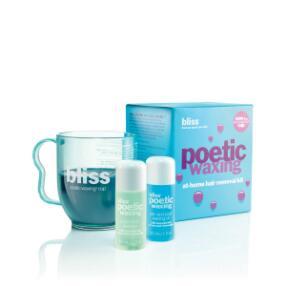 bliss poetic waxing microwaveable wax kit