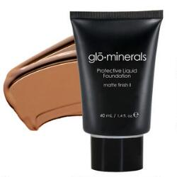 glominerals Protective Liquid Foundations Satin II & Face Foundation