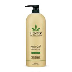 Hempz Jasmine, Peach and Wild Rose Body Wash Liter