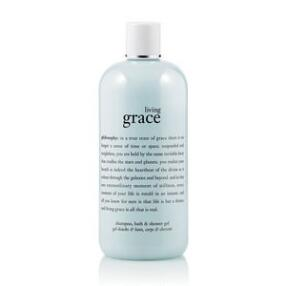 philosophy living grace shampoo, bath & shower gel