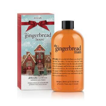 Philosophy The Gingerbread Man Shampoo Shower Gel Bubble Bath