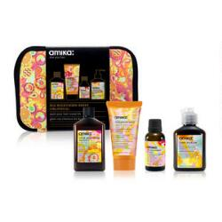 amika Obliphica Spoil Your Hair Travel Kit, Mini Shampoo & Hair Products