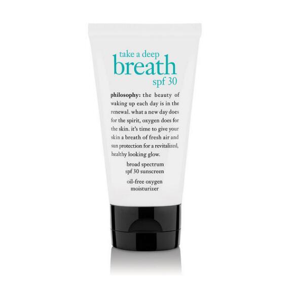 philosophy take a deep breath moisturizer SPF 30