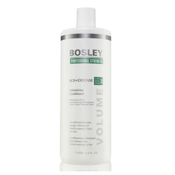 Bosley Professional Strength BosDefense Volumizing Conditioner for Non Color-Treated Hair