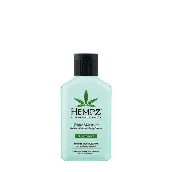 Hempz Triple Moisture Herbal Whipped Body Creme Travel Size