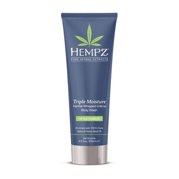 Hempz Triple Moisture Herbal Whipped Body Wash