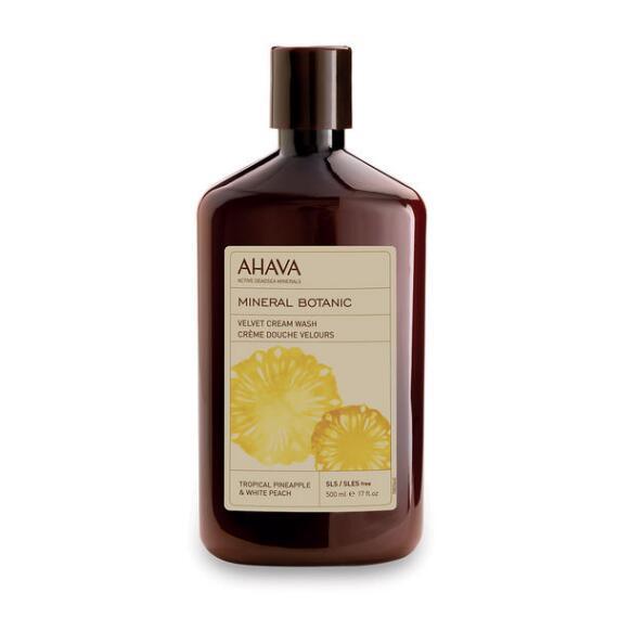 AHAVA Mineral Botanic Body Wash Tropical Pineapple & White Peach