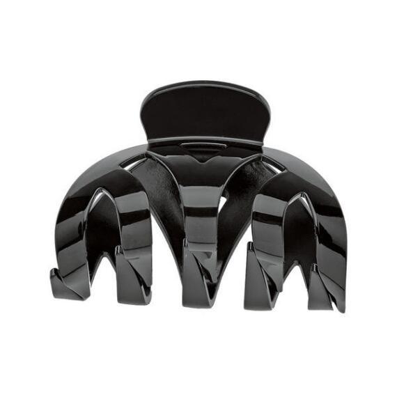 Victoria's European Black Weaved Claw Clip