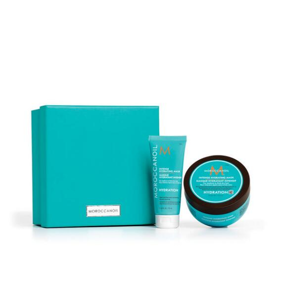 Moroccanoil Intense Hydrating Mask Home & Away Set