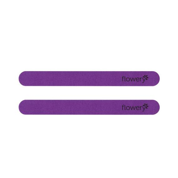 Flowery Ultra Violet Nail File 2pk