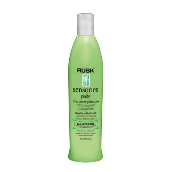 RUSK Sensories Purify Cucurbita and Tea Tree Deep Cleansing Shampoo