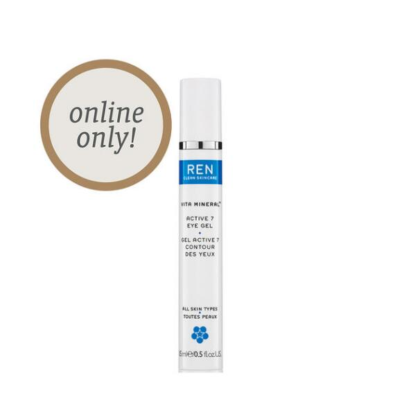 REN Clean Skincare Active 7 Eye Gel