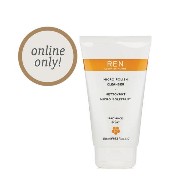 REN Clean Skincare Micro Polish Cleanser
