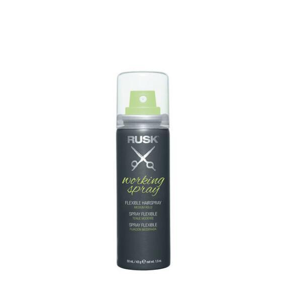 RUSK Working Spray Flexible Hairspray Travel Size