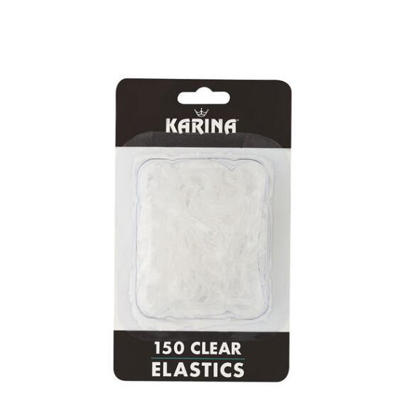 Karina By Victoria's European Small Clear Gummi Elastics