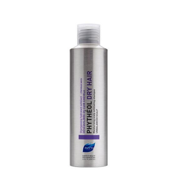 PHYTO Phytheol Dry Hair Moisturizing Scalp Exfoliating Shampoo