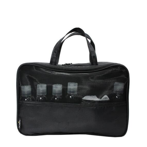 Modella Basics Black Fitted Weekender