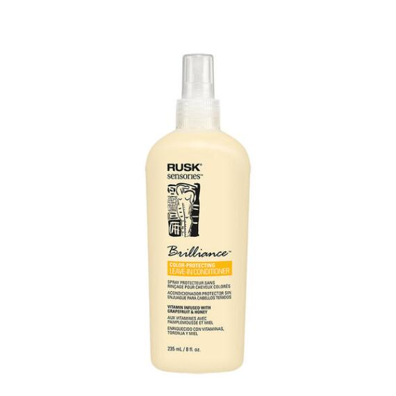 RUSK Brilliance Grapefruit and Honey Color Protecting Leave-In Spray Conditioner