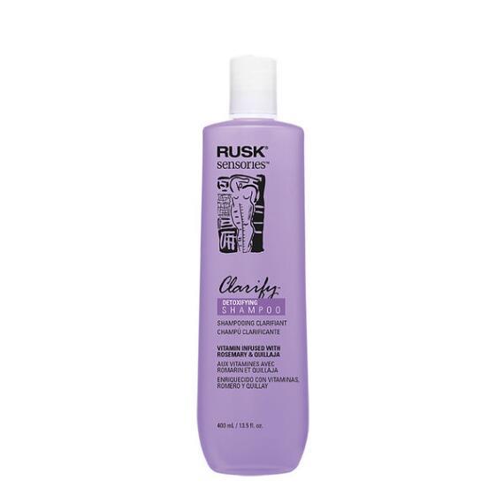 RUSK Clarify Rosemary and Quillaja Detoxifying Shampoo