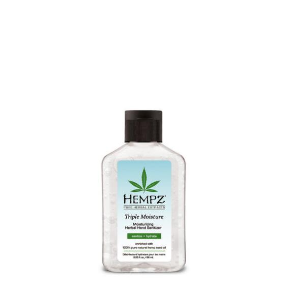 Hempz Mini Triple Moisture Moisturizing Hand Sanitizer Travel Size