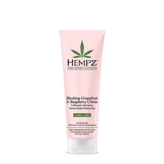 Hempz Blushing Grapefruit & Raspberry Creme Herbal Hydrating In Shower Body Moisturizer