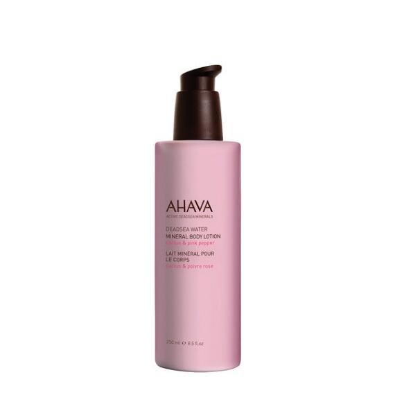 AHAVA Mineral Cactus & Pink Pepper Body Lotion