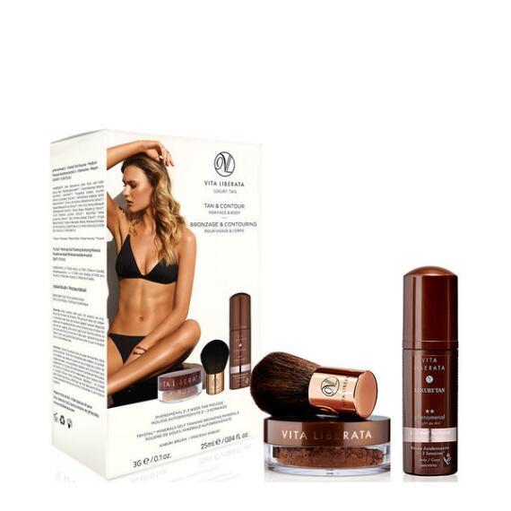 Vita Liberata Tan and Contour Kit for Face and Body