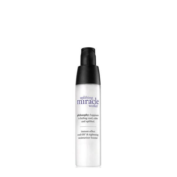 philosophy uplifting miracle worker instant effect cool-lift & tightening moisturizer booster
