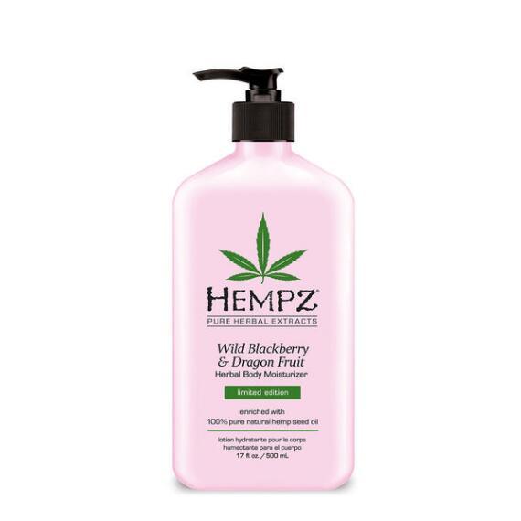Hempz Wild Blackberry & Dragon Fruit Herbal Moisturizer