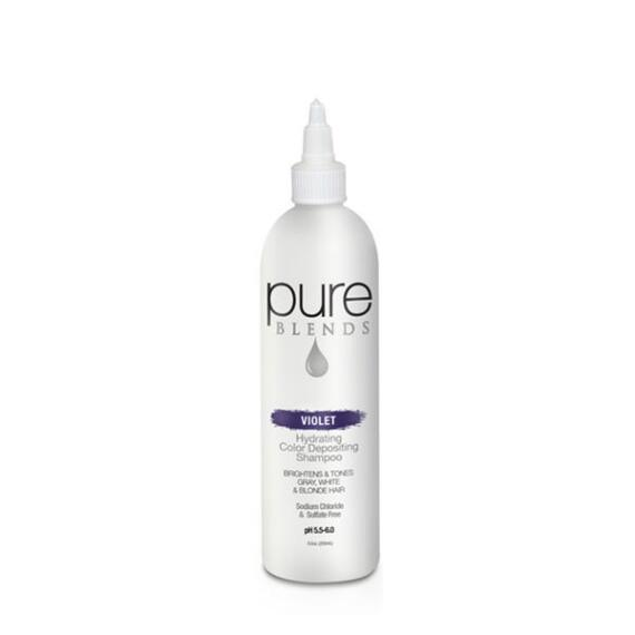 pure BLENDS Violet Hydrating Color Depositing Shampoo