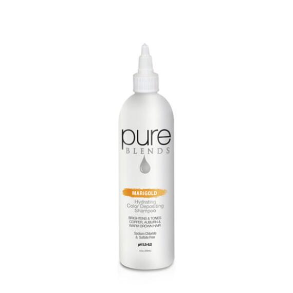 pure BLENDS Marigold Hydrating Color Depositing Shampoo