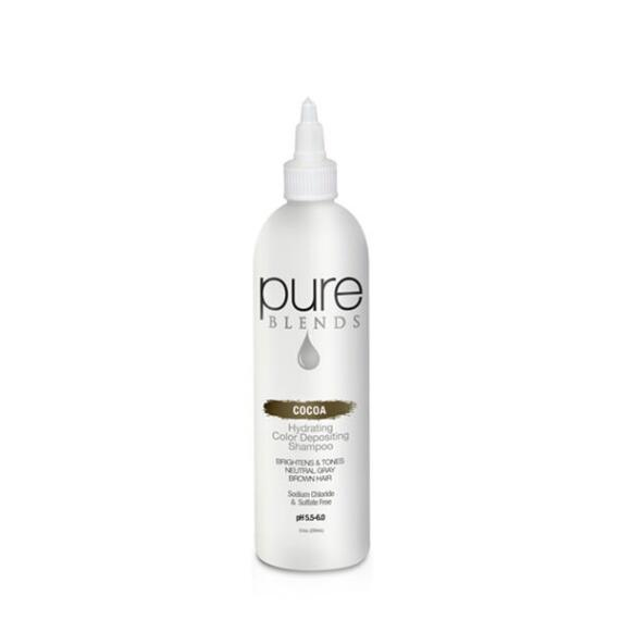 pure BLENDS Cocoa Hydrating Color Depositing Shampoo