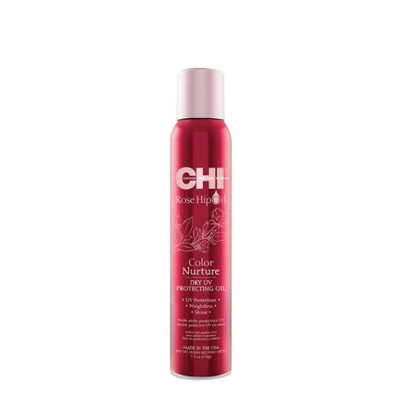 Chi Rose Hip Oil Color Nurture Dry UV Protecting Oil