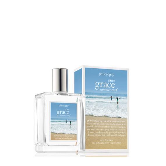 philosophy pure grace summer surf eau de toilette spray