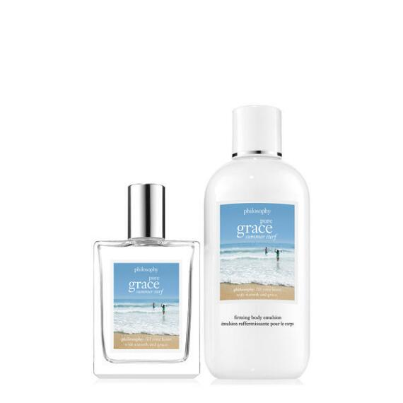 philosophy pure grace summer surf 2-piece set