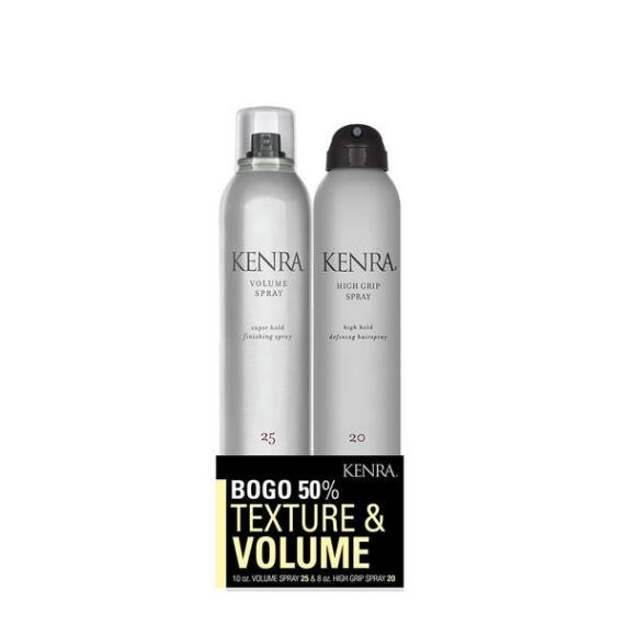 Kenra High Grip Spray 20 & Volume Spray 25 Duo