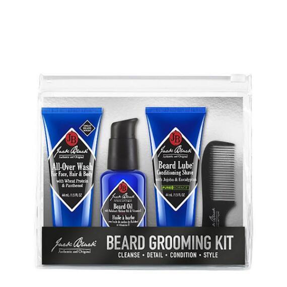 Jack Black Beard Grooming 4-Piece Kit