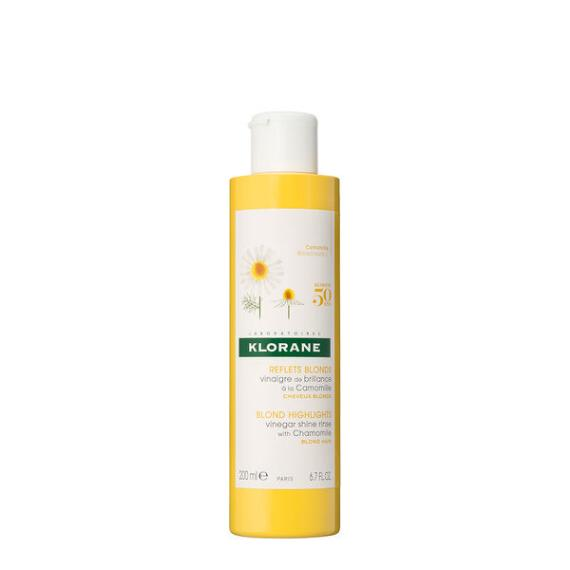 Klorane Vinegar Shine Rinse with Chamomile for Blond Hair