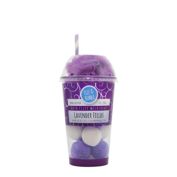 Fizz and Bubble Lavender Fields Bubble Bath Milkshake