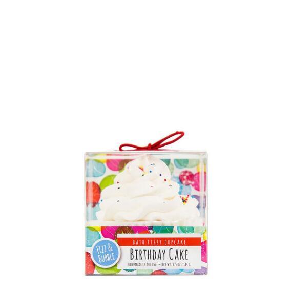Fizz and Bubble Birthday Cake Bubble Bath Cupcake
