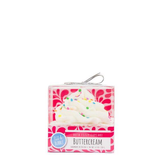 Fizz and Bubble Buttercream Bubble Bath Cupcake