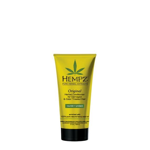 Hempz Original Herbal Conditioner For Damaged & Color Treated Hair Travel Size