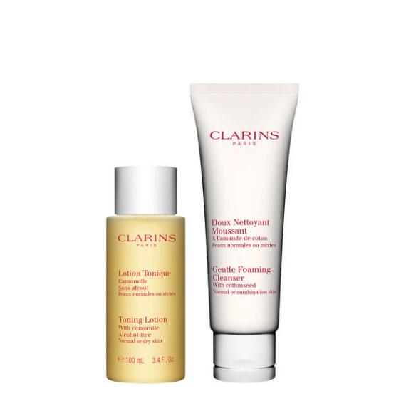 Clarins Cleansing Duo for Normal and Combination Skin
