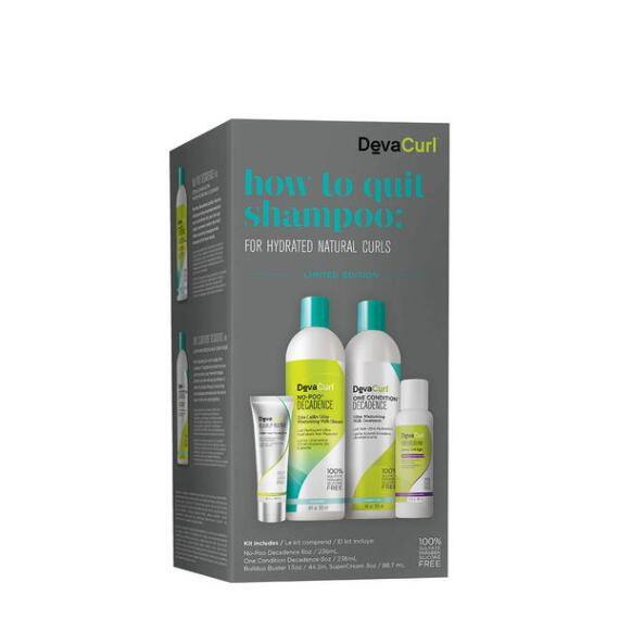 DevaCurl How to Quit Shampoo for Natural Curls Kit