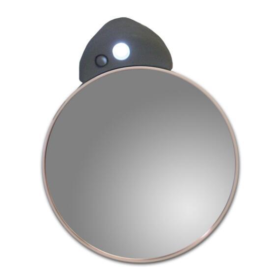 Zadro 5x/10x Lighted Spot Mirror - Black