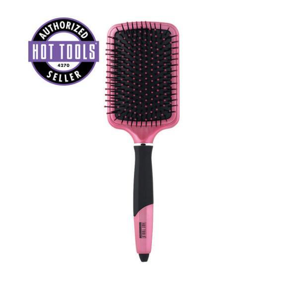 Hot Tools Pink Titanium Paddle Brush