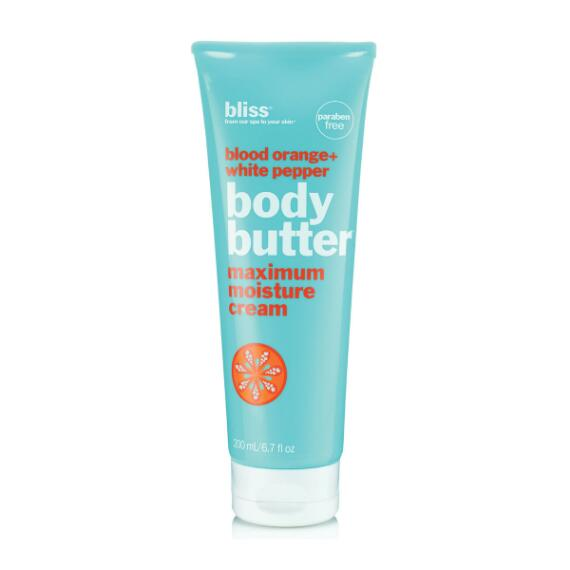 bliss blood orange body butter