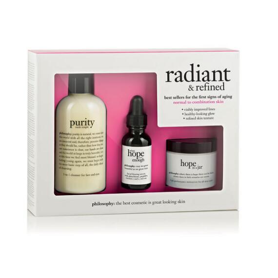 philosophy radiant & refined kit